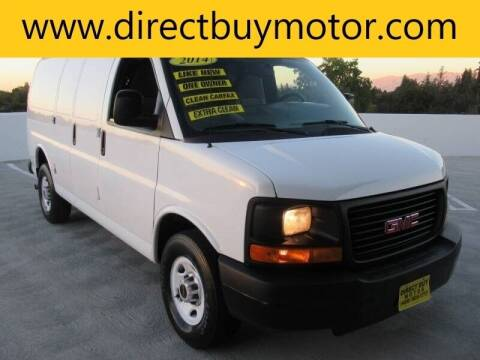 2014 GMC Savana Cargo for sale at Direct Buy Motor in San Jose CA