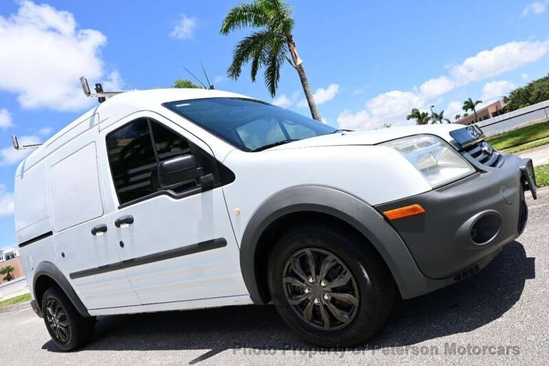 2010 Ford Transit Connect for sale at MOTORCARS in West Palm Beach FL