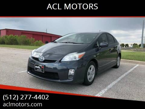 2010 Toyota Prius for sale at ACL MOTORS in Austin TX