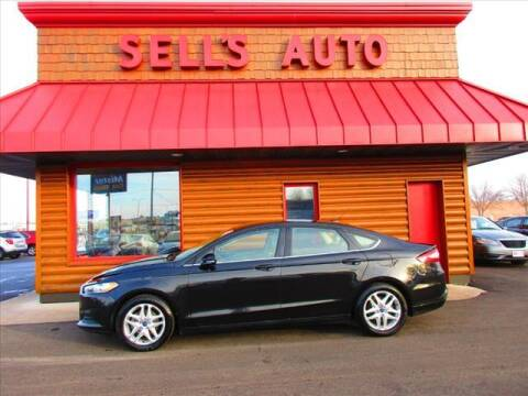 2013 Ford Fusion for sale at Sells Auto INC in Saint Cloud MN