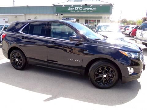 2020 Chevrolet Equinox for sale at Jim O'Connor Select Auto in Oconomowoc WI