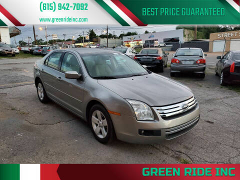 2009 Ford Fusion for sale at Green Ride Inc in Nashville TN