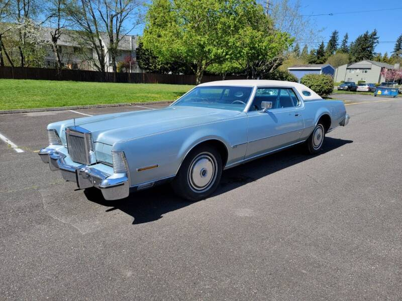 1974 Lincoln Mark IV for sale in Lynnwood, WA