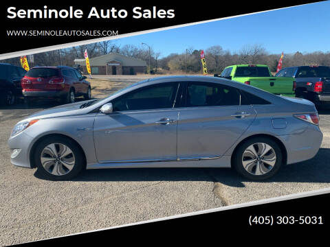 2015 Hyundai Sonata Hybrid for sale at Seminole Auto Sales in Seminole OK