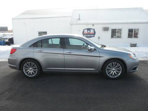 2013 Chrysler 200 for sale at B & B Sales 1 in Decorah IA