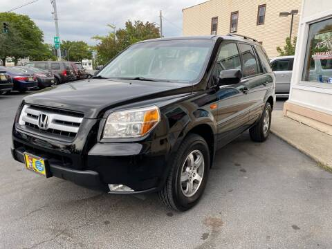 2007 Honda Pilot for sale at ADAM AUTO AGENCY in Rensselaer NY