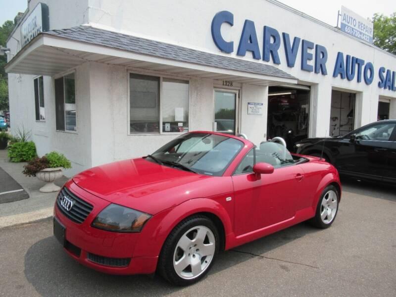 2001 Audi TT for sale at Carver Auto Sales in Saint Paul MN