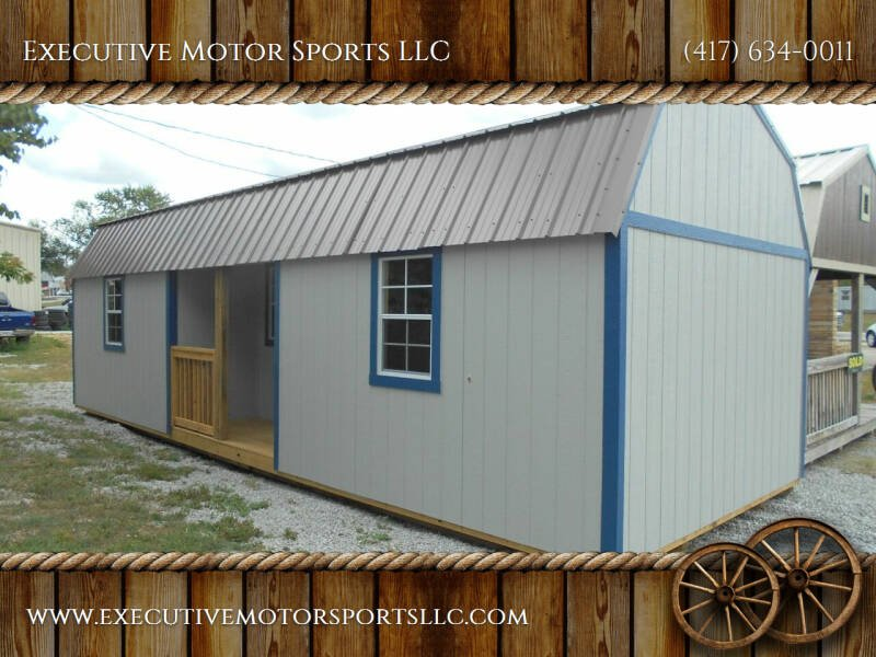 2021 Premier 12x32 Center Lofted Barn Cabin for sale at Executive Motor Sports LLC in Sparta MO