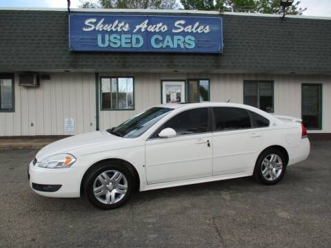 2009 Chevrolet Impala for sale at SHULTS AUTO SALES INC. in Crystal Lake IL