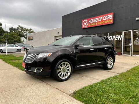 2014 Lincoln MKX for sale at HOUSE OF CARS CT in Meriden CT
