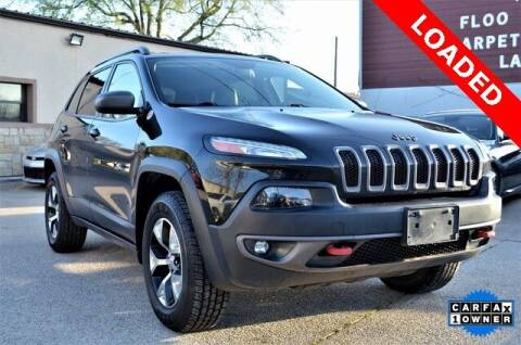 2015 Jeep Cherokee for sale at LAKESIDE MOTORS, INC. in Sachse TX