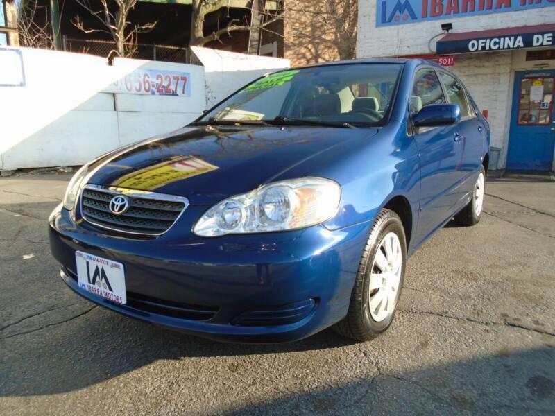 2006 Toyota Corolla for sale at IBARRA MOTORS INC in Cicero IL