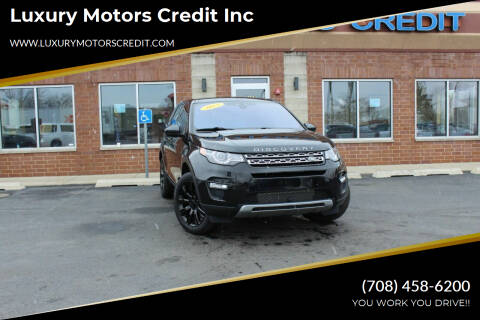 2015 Land Rover Discovery Sport for sale at Luxury Motors Credit Inc in Bridgeview IL