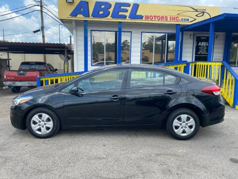 2018 Kia Forte for sale at Abel Motors, Inc. in Conroe TX