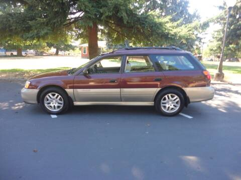 2000 Subaru Outback for sale at TONY'S AUTO WORLD in Portland OR
