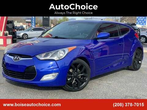 2013 Hyundai Veloster for sale at AutoChoice in Boise ID