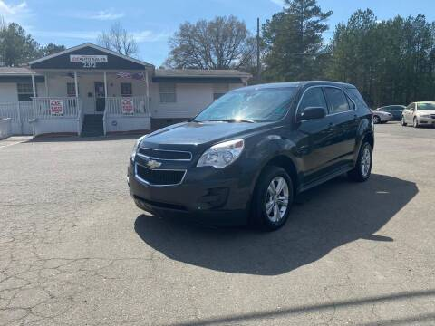 2013 Chevrolet Equinox for sale at CVC AUTO SALES in Durham NC