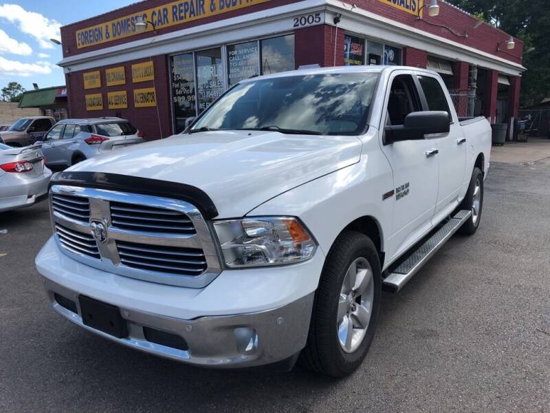 2015 RAM Ram Pickup 1500 for sale at 4 Girls Auto Sales in Houston TX