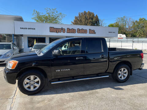 2011 Nissan Titan for sale at Moye's Auto Sales Inc. in Leesburg FL