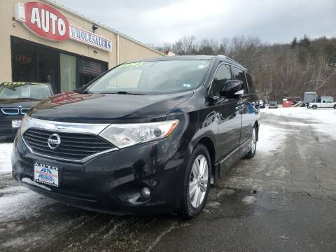 2013 Nissan Quest for sale at Auto Wholesalers Of Hooksett in Hooksett NH
