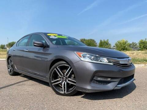 2017 Honda Accord for sale at UNITED Automotive in Denver CO