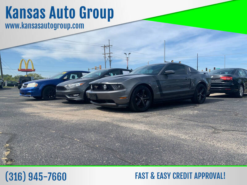 2011 Ford Mustang for sale at Kansas Auto Group in Wichita KS