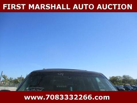 2001 GMC Yukon XL for sale at First Marshall Auto Auction in Harvey IL