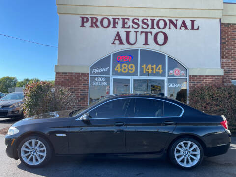 2013 BMW 5 Series for sale at Professional Auto Sales & Service in Fort Wayne IN