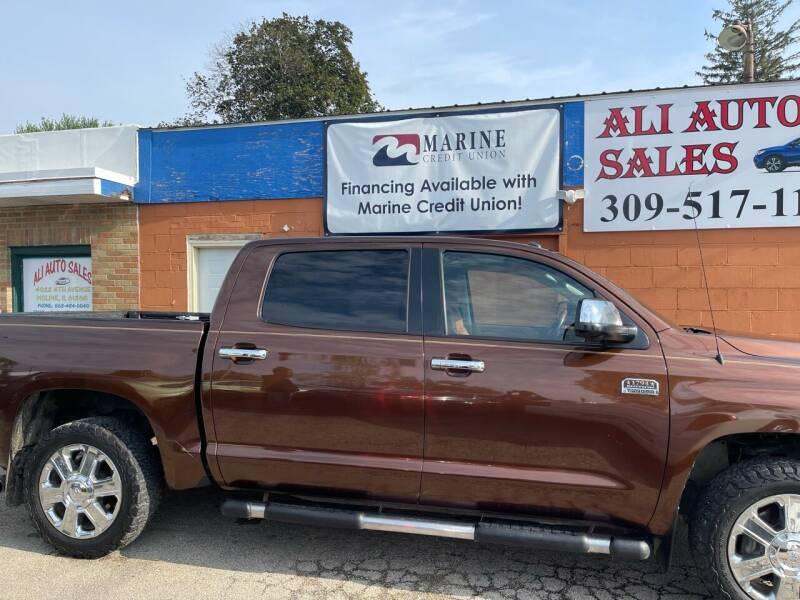 2014 Toyota Tundra for sale at Ali Auto Sales in Moline IL