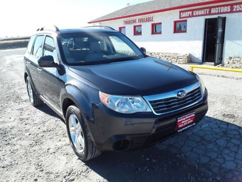 2010 Subaru Forester for sale at Sarpy County Motors in Springfield NE