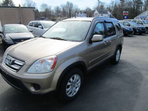 2006 Honda CR-V for sale at Route 12 Auto Sales in Leominster MA