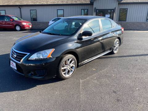 2013 Nissan Sentra for sale at Approved Automotive Group in Terre Haute IN