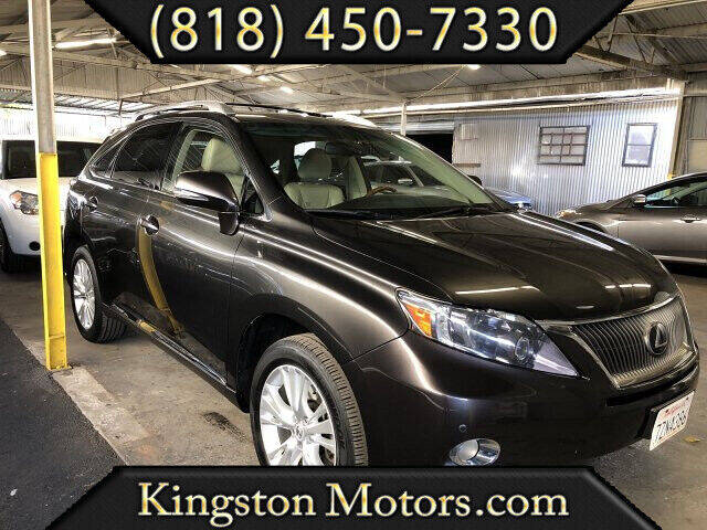2010 Lexus RX 450h for sale at Kingston Motors in North Hollywood CA