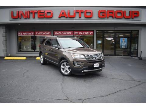 2016 Ford Explorer for sale at United Auto Group in Putnam CT