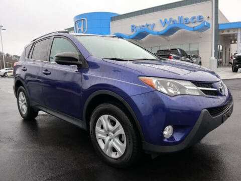 2014 Toyota RAV4 for sale at RUSTY WALLACE HONDA in Knoxville TN