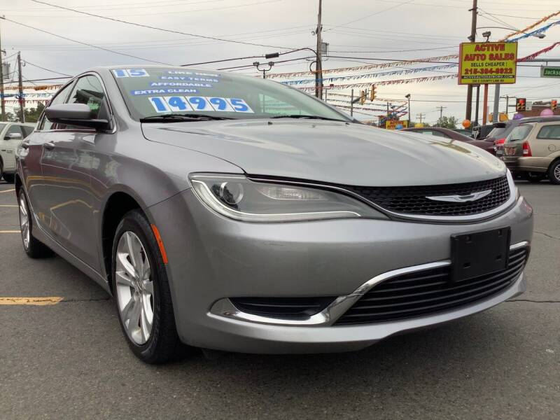 2015 Chrysler 200 for sale at Active Auto Sales in Hatboro PA