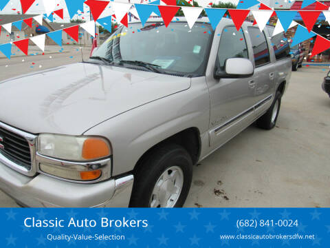 2005 GMC Yukon XL for sale at Classic Auto Brokers in Haltom City TX
