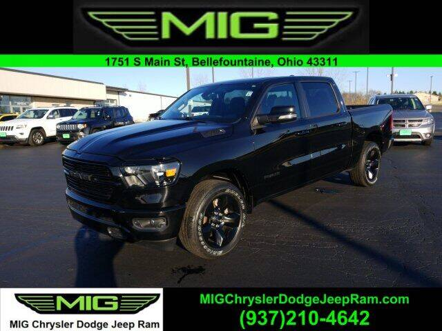 2019 RAM Ram Pickup 1500 for sale at MIG Chrysler Dodge Jeep Ram in Bellefontaine OH