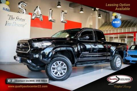 2017 Toyota Tacoma for sale at Quality Auto Center of Springfield in Springfield NJ