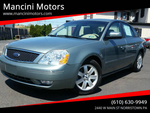 2006 Ford Five Hundred for sale at Mancini Motors in Norristown PA