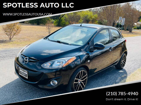 2011 Mazda MAZDA2 for sale at SPOTLESS AUTO LLC in San Antonio TX