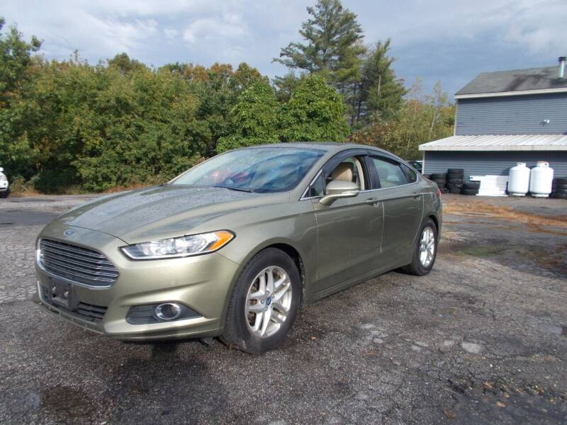 2013 Ford Fusion for sale at Manchester Motorsports in Goffstown NH