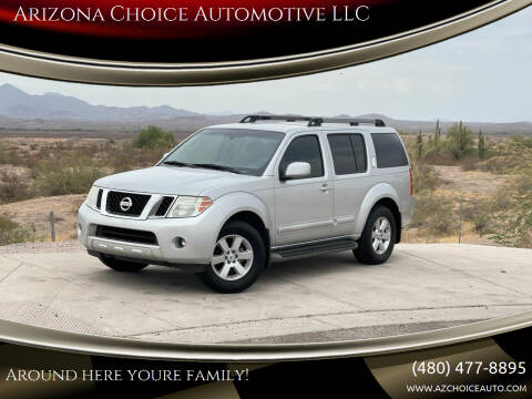 2008 Nissan Pathfinder for sale at Arizona Choice Automotive LLC in Mesa AZ