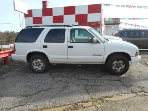 2002 Chevrolet Blazer for sale at Ricciardi Auto Sales in Waterbury CT