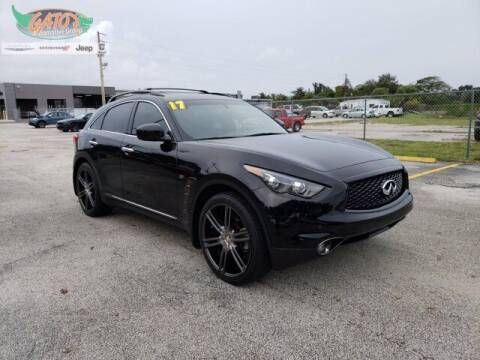 2017 Infiniti QX70 for sale at GATOR'S IMPORT SUPERSTORE in Melbourne FL