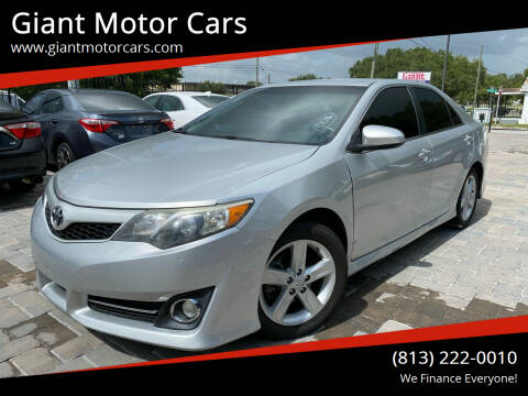 2014 Toyota Camry for sale at Giant Motor Cars in Tampa FL