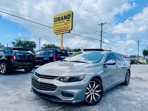 2017 Chevrolet Malibu for sale at Grand Auto Sales in Tampa FL