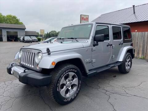 2018 Jeep Wrangler JK Unlimited for sale at HUFF AUTO GROUP in Jackson MI