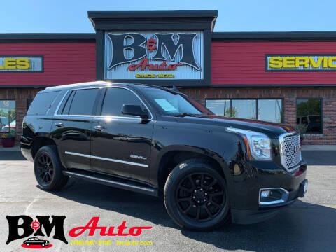 2015 GMC Yukon for sale at B & M Auto Sales Inc. in Oak Forest IL
