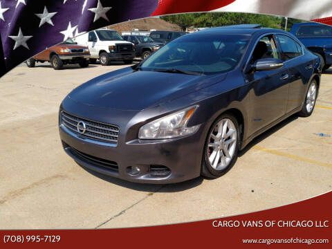 2009 Nissan Maxima for sale at Cargo Vans of Chicago LLC in Mokena IL